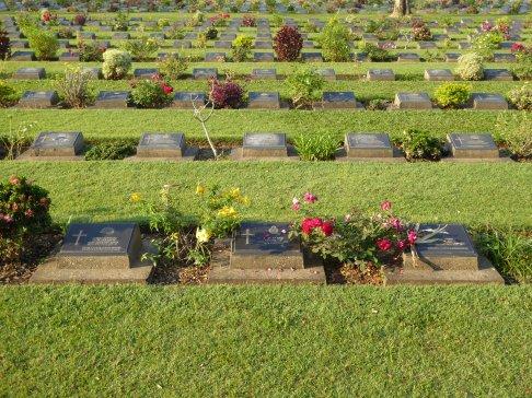 Death Railway cemetery
